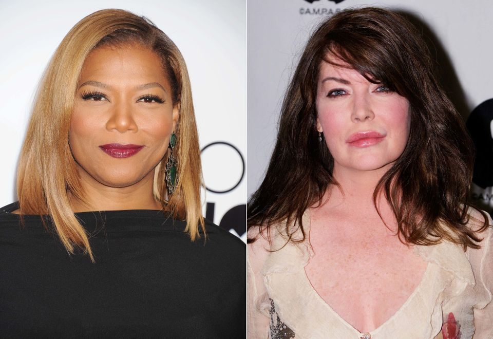 Queen Latifah (pictured, left), the multi-talented actress, rapper, producer, and host of The Queen Latifah Show, sports smoo
