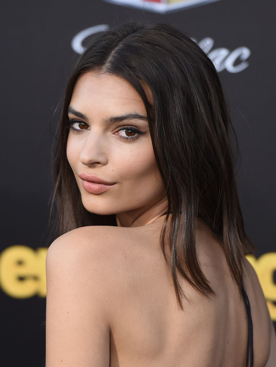 WESTWOOD, CA - JUNE 01:  Actress Emily Ratajkowski  attends the premiere of Warner Bros. Pictures' 'Entourage' at Regency Vil