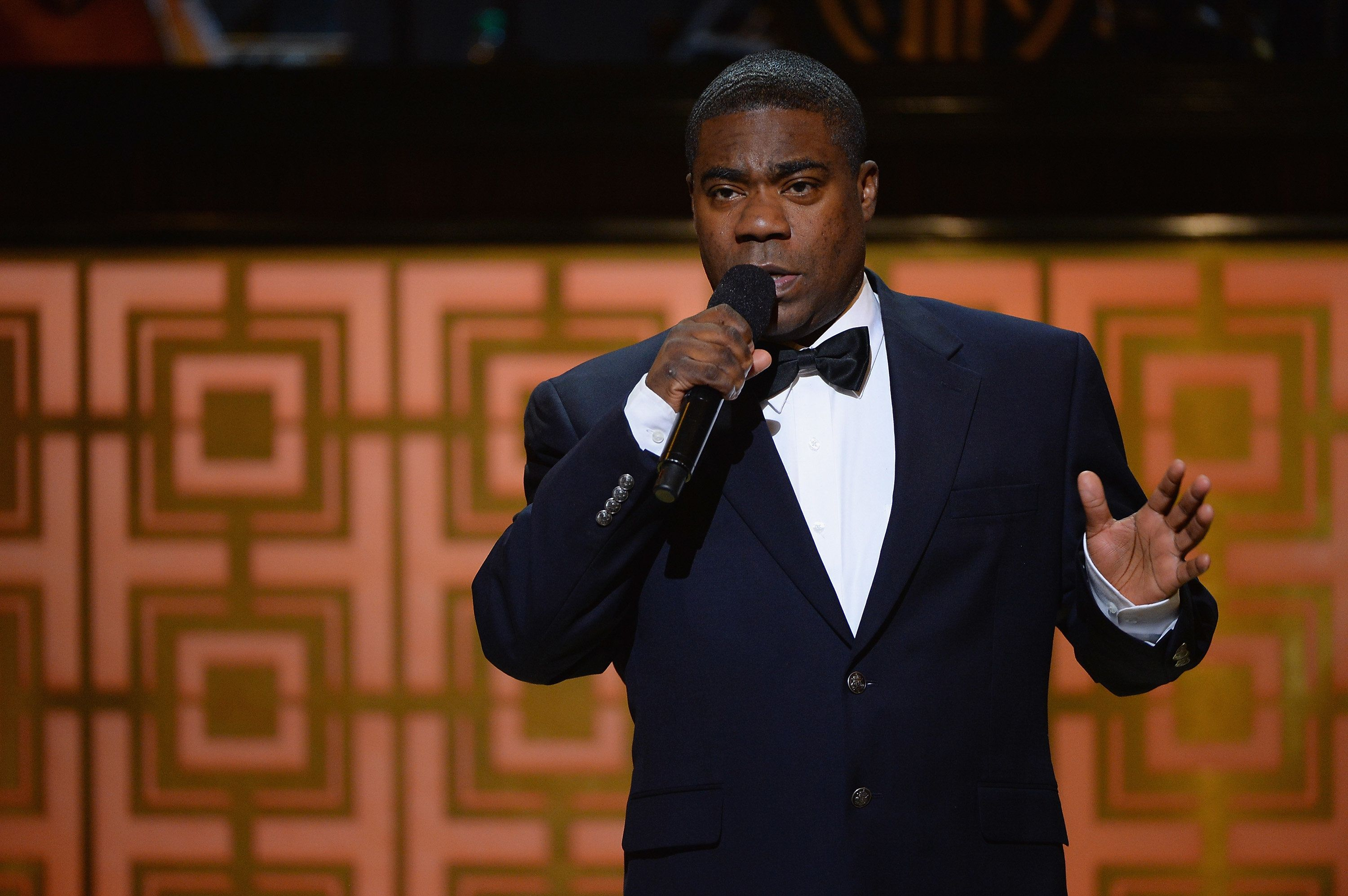 NEW YORK, NY - MAY 06:  Tracy Morgan speaks onstage at Spike TV's 'Don Rickles: One Night Only' on May 6, 2014 in New York City.  (Photo by Theo Wargo/Getty Images for Spike TV)