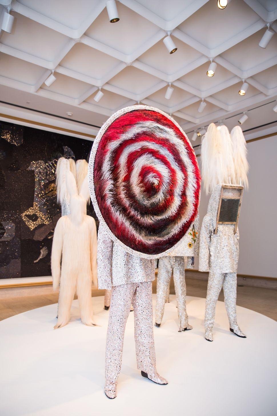 <span>Installation view of <em>Nick Cave: Here Hear&nbsp;</em></span>