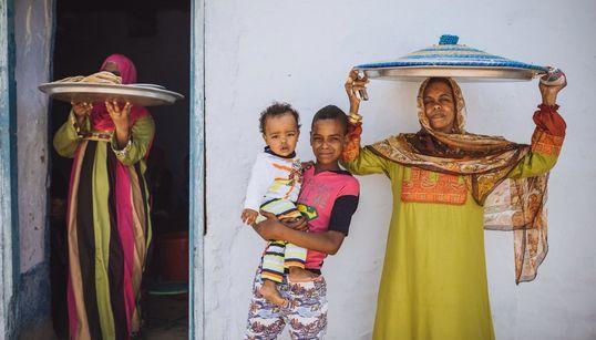 ¿Cómo es la vida en la sociedad egipcia de Nubia?