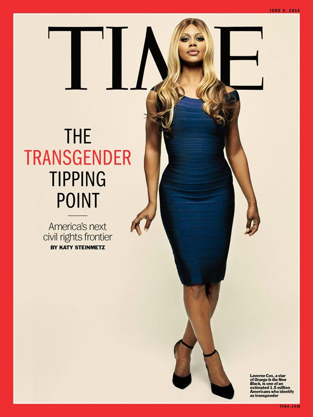 "The ""Orange Is The New Black"" star was the first transgender person to cover of TIME, appearing in the <a href=""https://www.h"