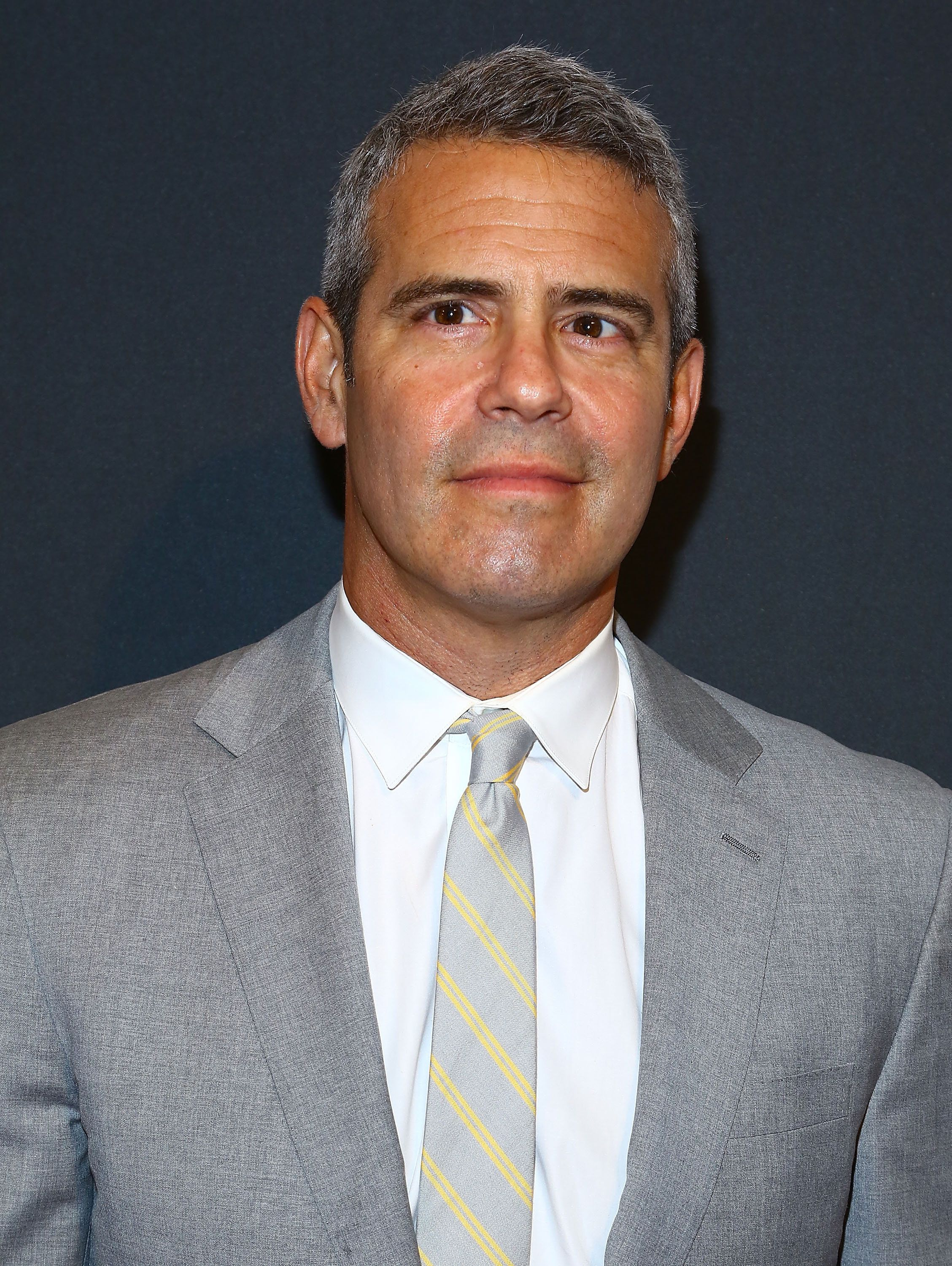 NEW YORK, NY - MAY 05:  TV personality  Andy Cohen attends the 2015 CLIO Awards at The Plaza Hotel on May 5, 2015 in New York City.  (Photo by Astrid Stawiarz/Getty Images)