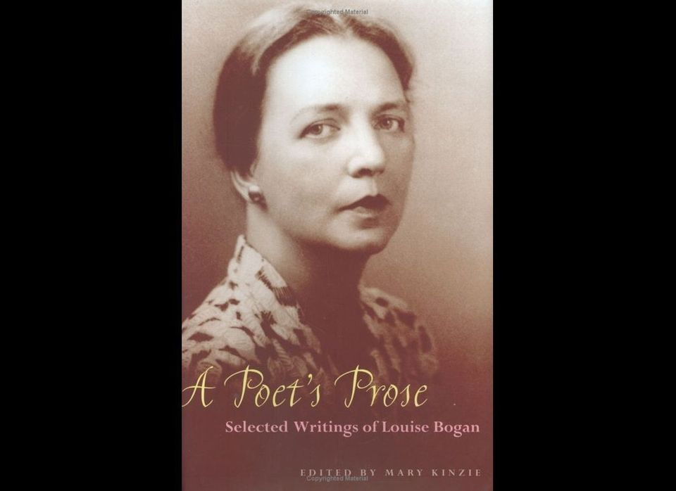 Louise Bogan was the fourth Poet Laureate of the United States and the first woman to be appointed to that position, apprecia
