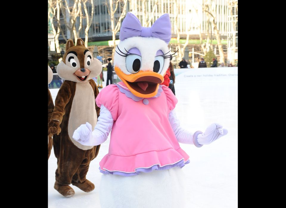 Of course the party wouldn't be complete without Donald's girlfriend.  She was first known as Donna Duck when she appeared in