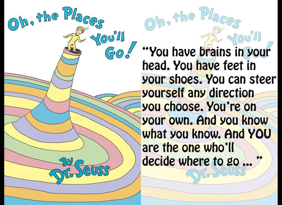 Dr Seuss Quotes 10 Memorable Quotes In Honor Of Dr Seuss Birthday And The Lorax Huffpost Life