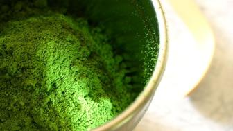 Japanese powdered green tea (Matcha)