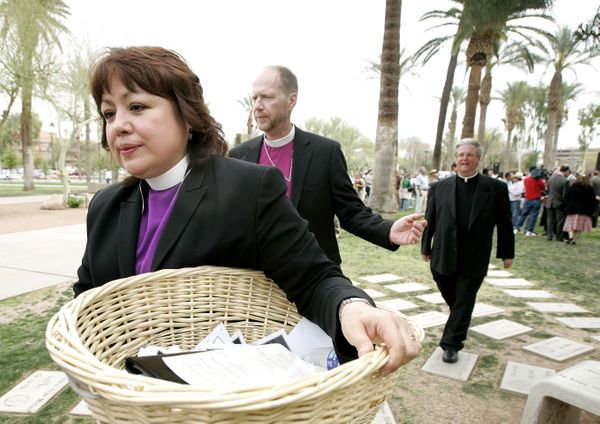 "Bishop Minerva Carcaño was assigned by the 2012 Western Jurisdictional Conference to be the <a href=""http://westernjurisdicti"