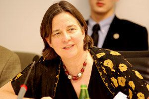 "<a href=""http://explore.georgetown.edu/people/KM398/"" target=""_blank"">Katherine Marshall </a>served as senior advisor for the"