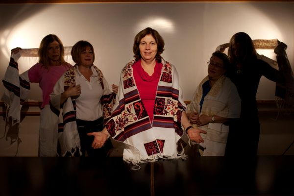 Anat Hoffman Chair of Women of the Wall, whose central mission is to achieve the social and legal recognition of women's righ