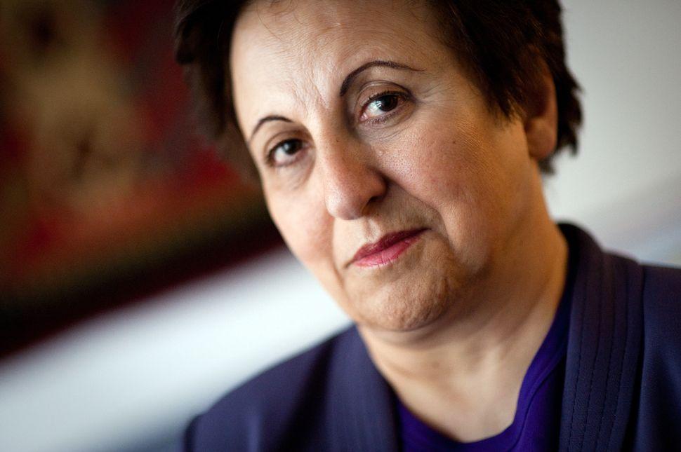 "In 2003, Shirin became the first Muslim woman to receive the <a href=""http://www.huffingtonpost.com/fazeela-siddiqui/10-musli"