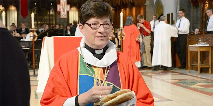 "Rev. Elizabeth A. Eaton is the fourth presiding bishop of the <a href=""http://www.elca.org/About/Leadership/Churchwide-Office"
