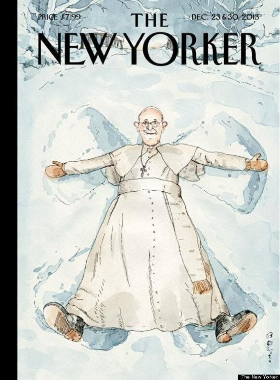 "Less than a week after landing on the cover of Time Magazine as their ""Person of the Year,"" Pope Francis now graces The New Y"