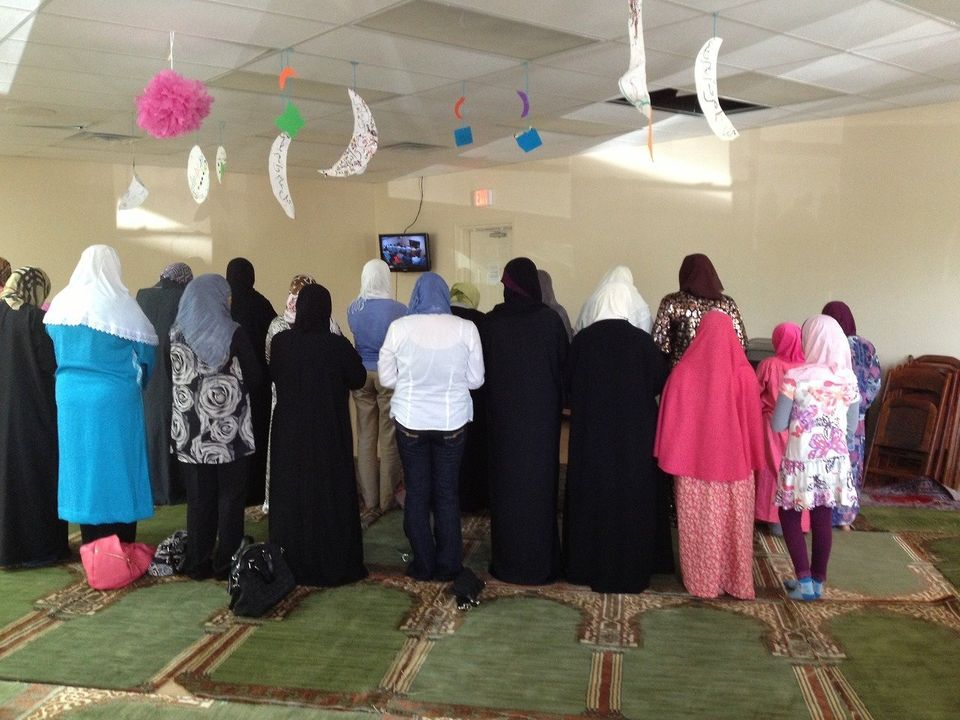 """Photos of the women's prayer areas at Toledo Muslim Community Center (TMCC). This building is still under construction, but"