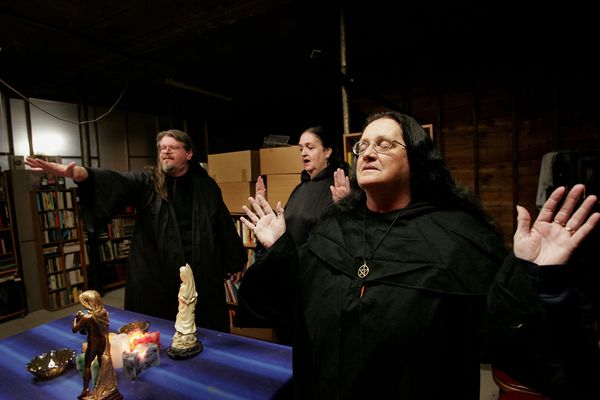 "One of the key elements of pagan rituals and personal practice is the <a href=""http://www.reclaiming.org/about/witchfaq/ritua"