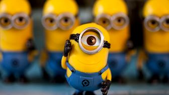 """Character from the movie """"Despicable Me"""".  For Macro Mondays Theme - Eye.  (167/365)"""