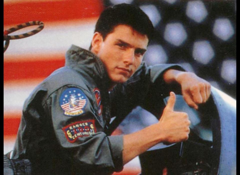 The iconic Maverick in Top Gun