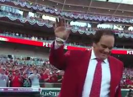 Pete Rose Gets Lengthy Standing Ovation From All-Star Weekend Crowd