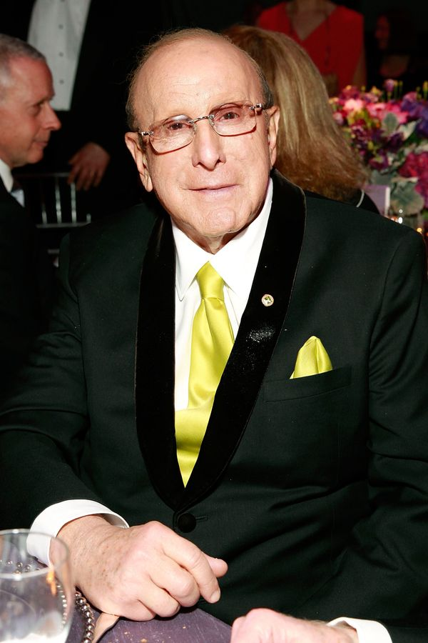 "Twice-married record executive and music mogul Clive Davis <a href=""http://www.huffingtonpost.com/2013/02/19/clive-davis-bise"