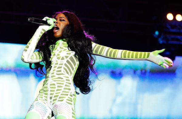 "The rapper has been <a href=""http://www.rollingstone.com/music/blogs/thread-count/azealia-banks-on-why-the-c-word-is-feminine"