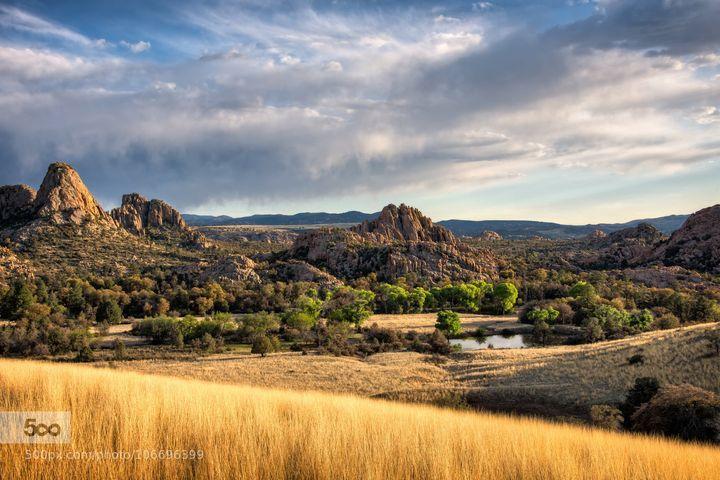 A nice pond in Granite Dells.  Prescott, Arizona