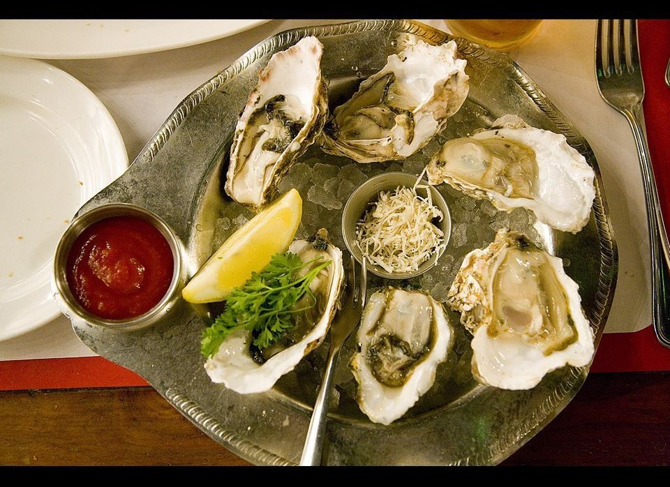 Oysters have a well-established history as an aphrodisiac (just look at that suggestive shape!): Romans believed in their lib