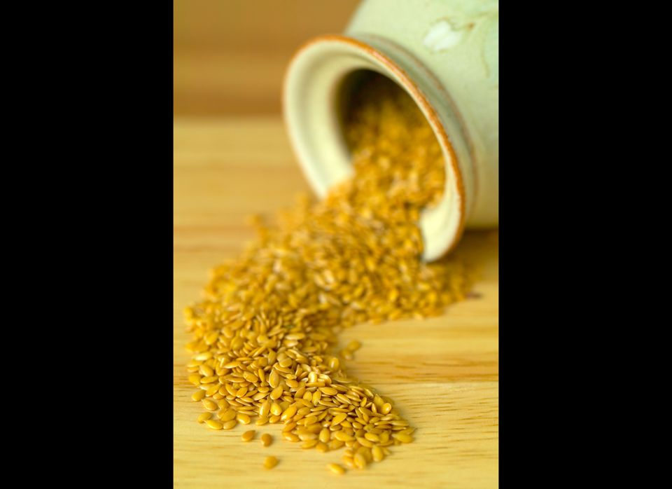 Flax seeds are high in lignans, especially important for women; lignans help protect the body from xenoestrogens -- toxic com