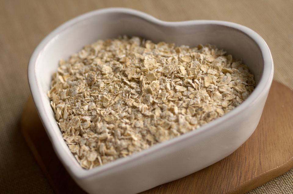 "Oats help lower your cholesterol because they contain soluble fiber, according to <a href=""http://www.health.harvard.edu/heal"