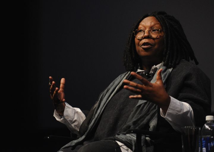 NEW YORK, NY - APRIL 22:  Actress and director Whoopi Goldberg speaks during  'I Got Somethin' To Tell You' screening and Q+A