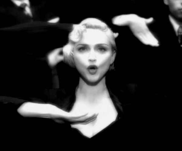 "<strong>Billboard peak:</strong> No. 1 <br> <br> Second perhaps only to ""Like a Virgin"" in defining Madonna's career, ""Vogue"""