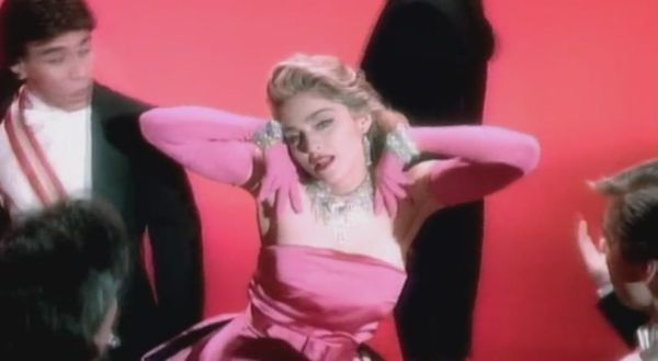 "<strong>Billboard peak:</strong> No. 2 <br> <br> ""Material Girl"" holds an interesting place in Madonna's oeuvre. Released aft"