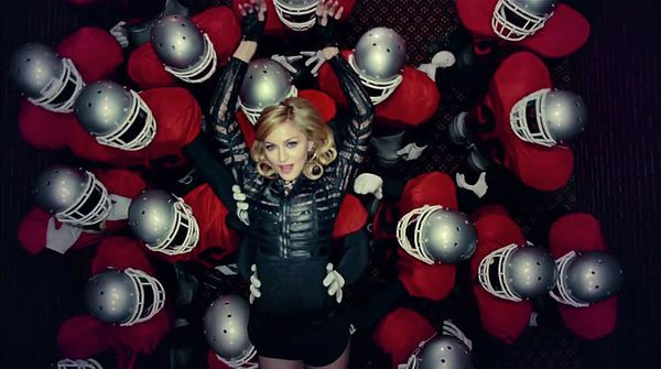 "<strong>Billboard peak:</strong> No. 10 <br> <br> ""Give Me All Your Luvin'"" contains Madonna's most vacuous lyrics, which inc"