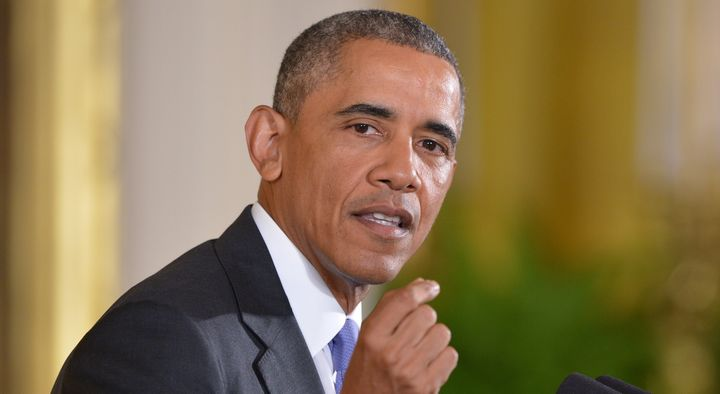US President Barack Obama speaks during a press conference on the nuclear deal with Iran on July 15, 2015 in the East Room of
