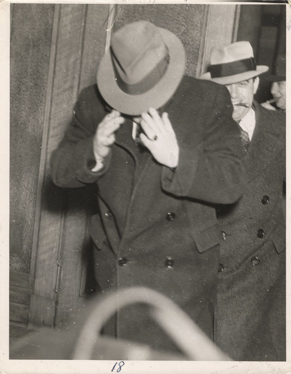 A minor witness questioned in New Jersey's Redwood murder, twentieth century. (Photo by Weegee (Arthur Fellig)/International