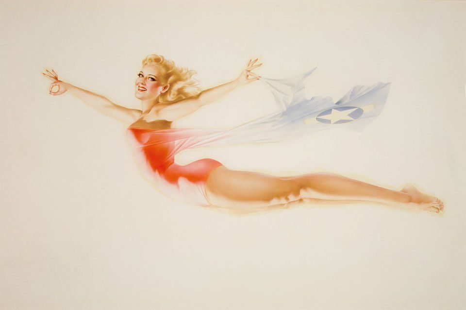 By Alberto Vargas (c) the Max Vargas Collection