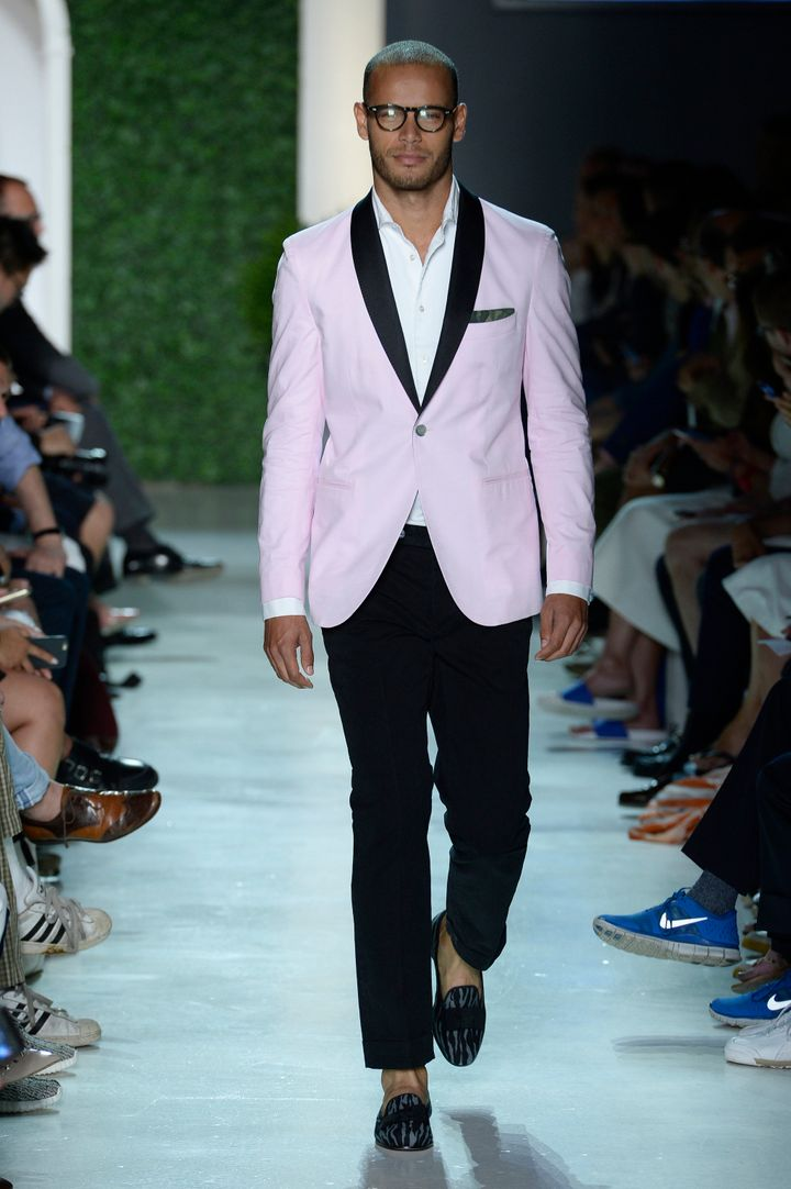 Michael Bastian's Spring 2016 collection