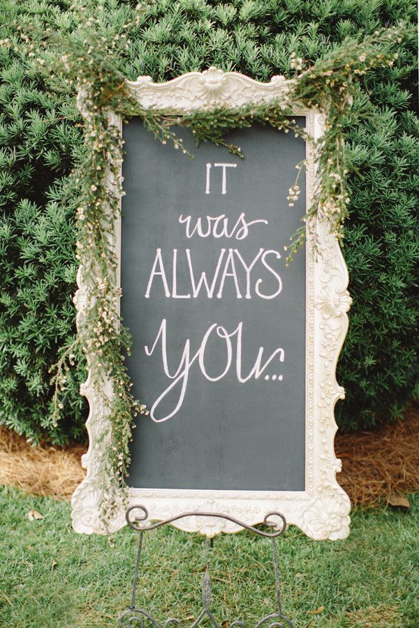 20 Cute And Clever Wedding Signs That Add A Little Somethin To The Party Huffpost Life