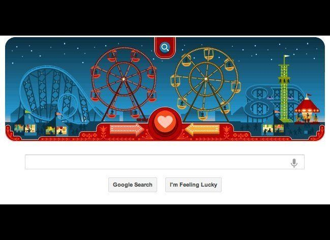 "On February 14th, 2013, Google celebrated both <a href=""https://www.huffpost.com/entry/george-ferris_n_2685966"" target=""_hpli"