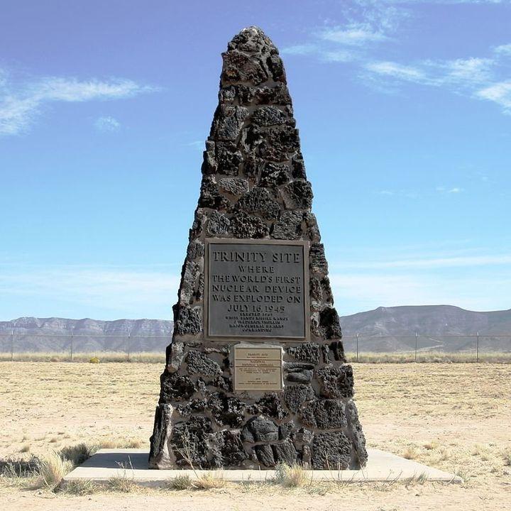 Trinity Site obelisk