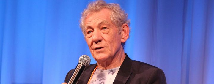 NEW YORK, NY - JULY 14:  Sir Ian McKellen arrives to The Academy Of Motion Picture Arts And Sciences Hosts An Official Academ