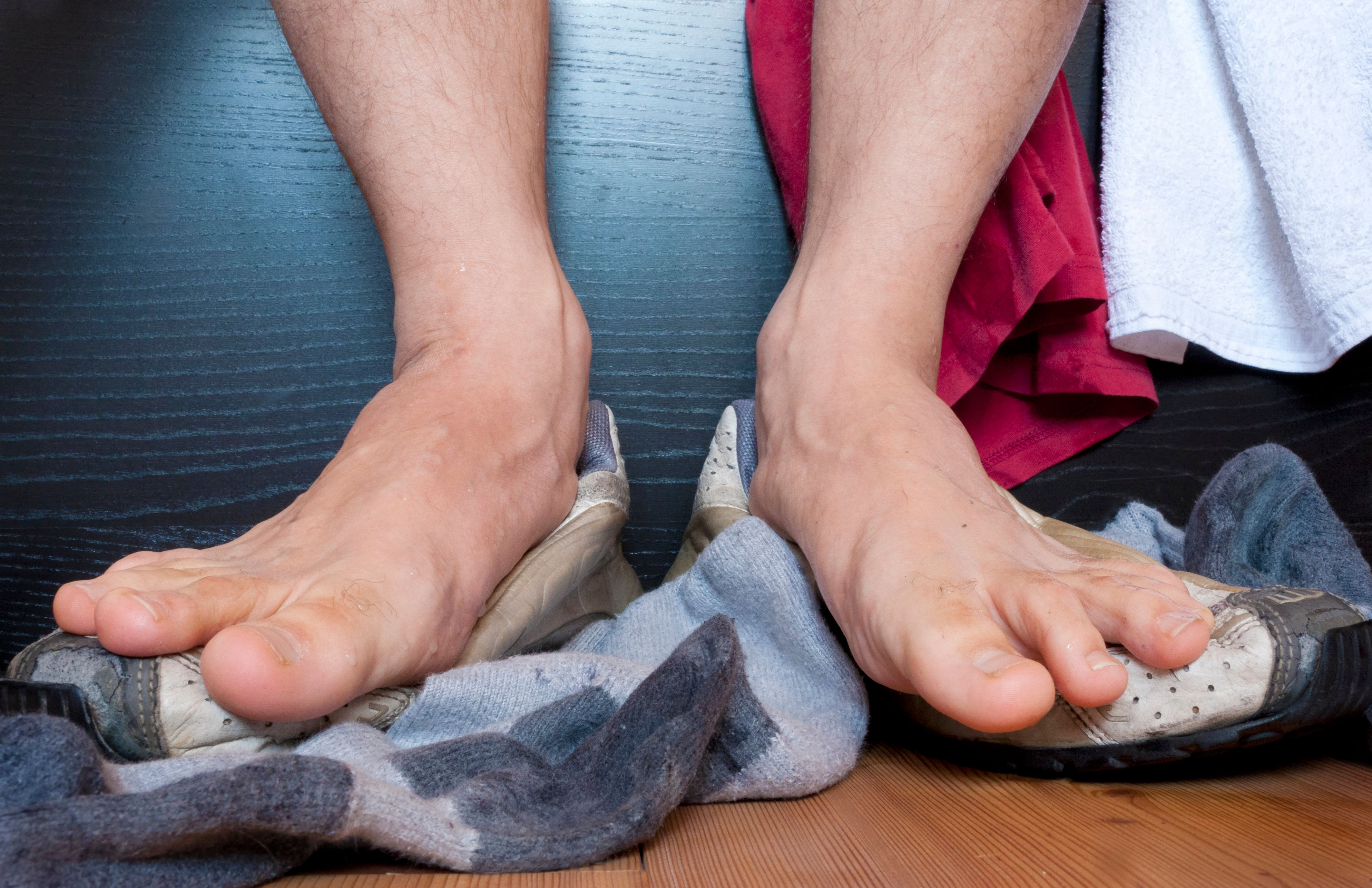 What to do if feet sweat 3