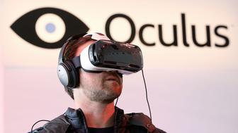 <p>General atmosphere at the Oculus Studio Story during the 2015 Tribeca Film Festival at Spring Studio on April 24, 2015, in New York City.</p>