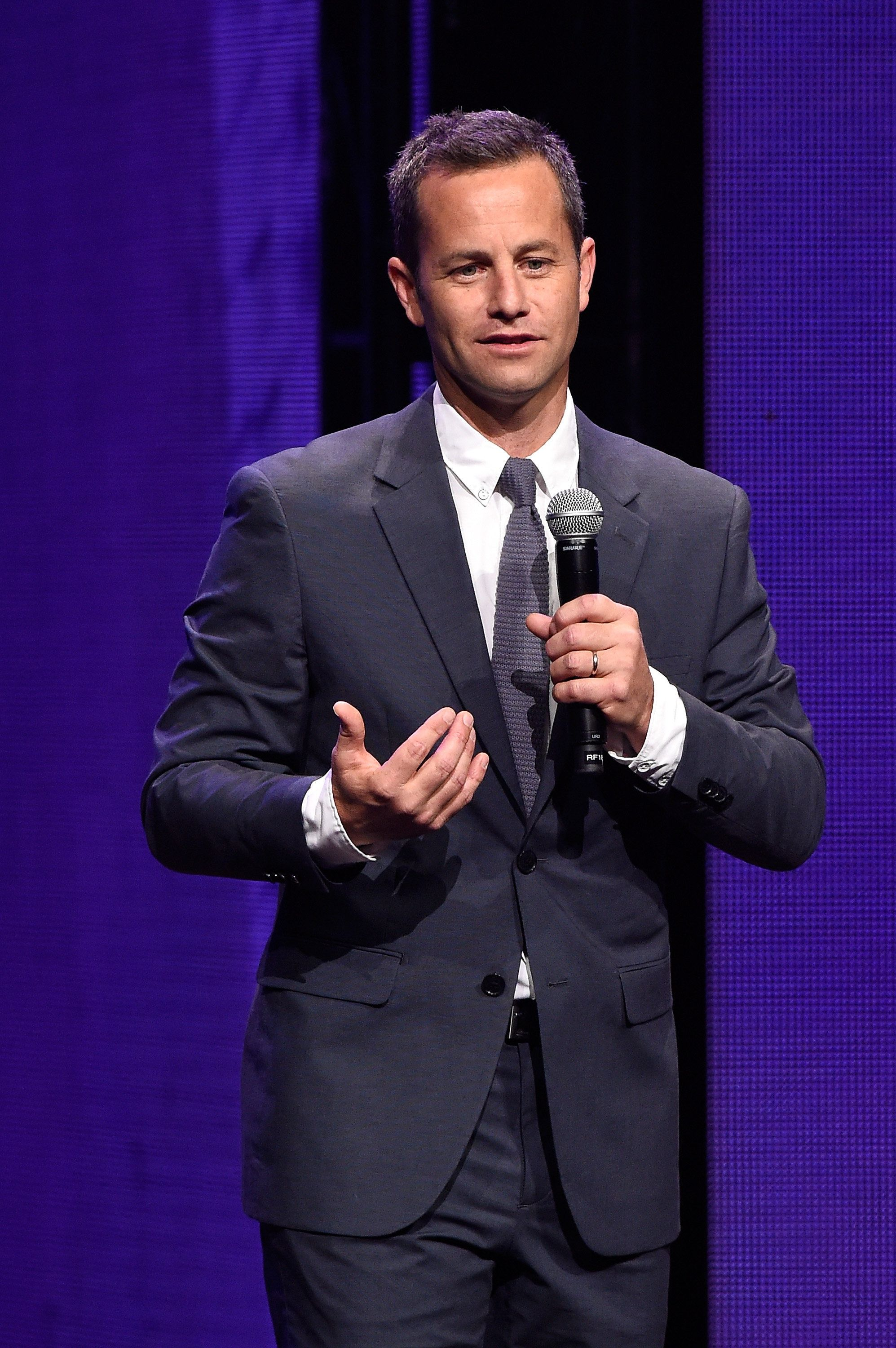 NASHVILLE, TN - MAY 31:  Co-host Kirk Cameron speaks onstage during the 3rd Annual KLOVE Fan Awards at the Grand Ole Opry House on May 31, 2015 in Nashville, Tennessee.  (Photo by Rick Diamond/Getty Images for KLOVE)