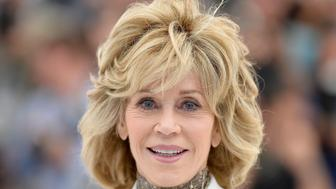 CANNES, FRANCE - MAY 20:  Actress Jane Fonda attends a photocall for 'Youth' during the 68th annual Cannes Film Festival on May 20, 2015 in Cannes, France.  (Photo by Pascal Le Segretain/Getty Images)