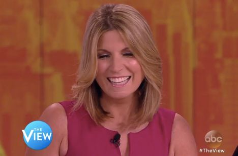 """""""The View"""" co-host Nicolle Wallace."""