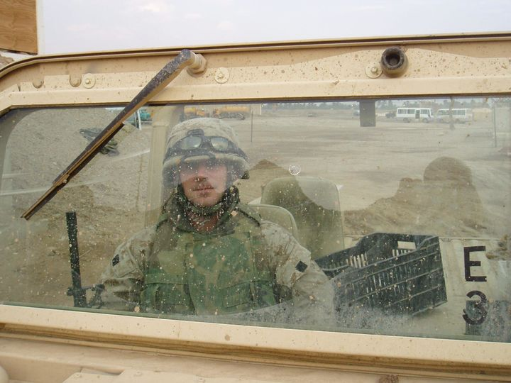 Gunnery Sgt. Thomas Sullivan is seen in a photo posted to his Facebook page.