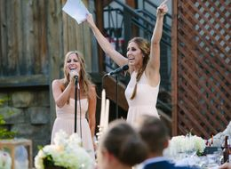 Sisters Bring Down The House With Legendary Maid Of Honor Toast