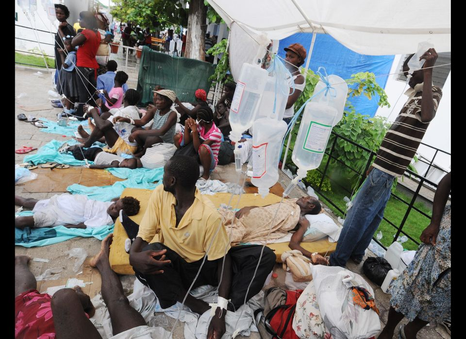 Haiti's recent outbreak of cholera has sickened over 3,000 residents and claimed the lives of 250.
