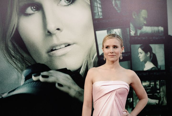 HOLLYWOOD, CA - MARCH 12:  (EDITORS NOTE: This image was processed using digital filters)  Actress Kristen Bell attends the L