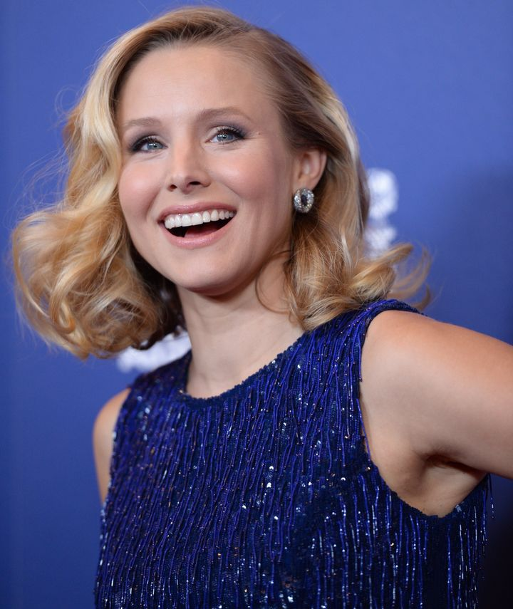 Actress Kristen Bell attends the Hollywood Foreign Press Associations (HFPA) Grants Banquet, August 14th at the Beverly Hilto